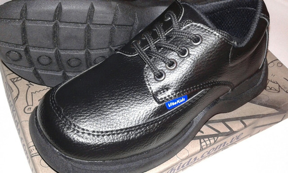 Zapatos Colegiales Escolare Niño Marca Vita Kids Talla 35