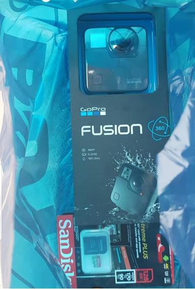 Gopro Fusion 360 / 2un Sandisk Extreme Plus 128gb / Até 12x