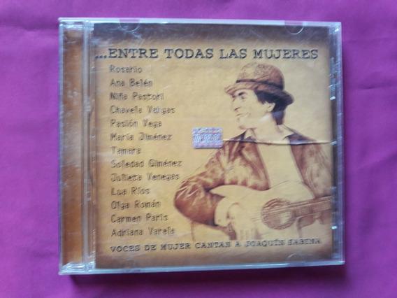 Entre Todas Las Mujeres - Homenaje A Joaquin Sabina - Cd
