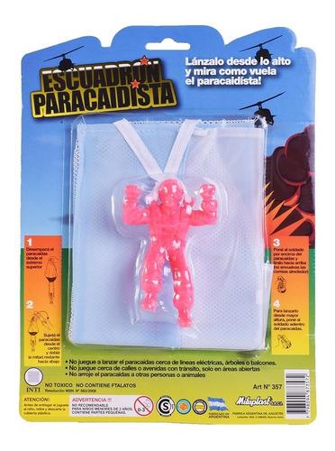 Muñeco Escuadrón Paracaidista 10 Cm Miluplast