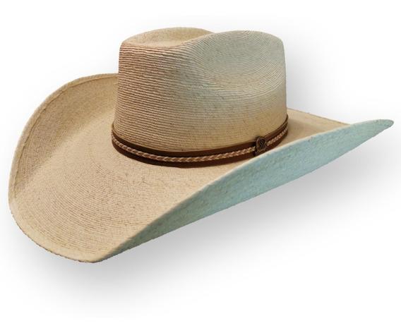 Sombrero Palma Fina De Tlapehuala Refaldeado Tipo 8 Segundos