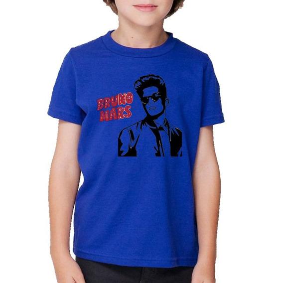 Remera Niño Niña Bruno Mars Pop Funk Musica Mod10