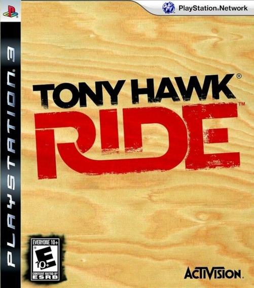Jogo Tony Hawk Ride Playstation 3 Ps3 Original Mídia Física