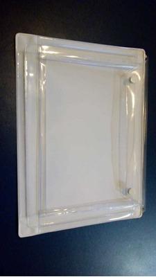 Pasta Porta Documento. Botão Metálico. 25,5x19cm+ Aba 5cm.