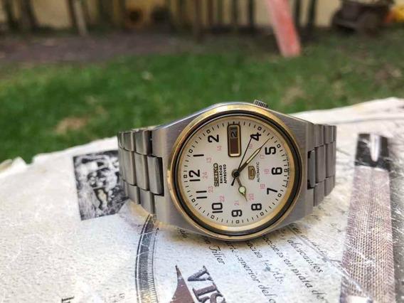 Reloj Seiko Railroad Approved Vintage Automático Ferrocaril