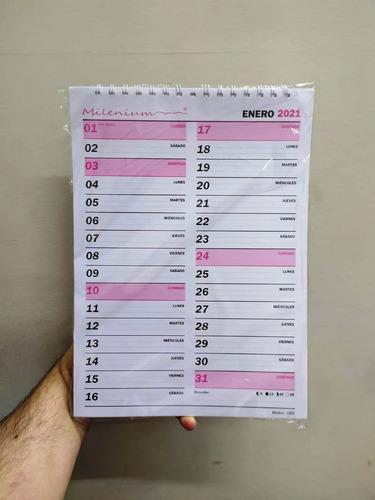 Imagen 1 de 1 de Planificador Almanaque Mensual A4 Calendario Este Año