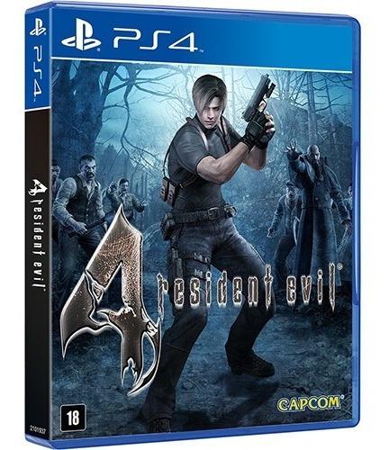 Jogo Resident Evil 4 ² Ps4 Original