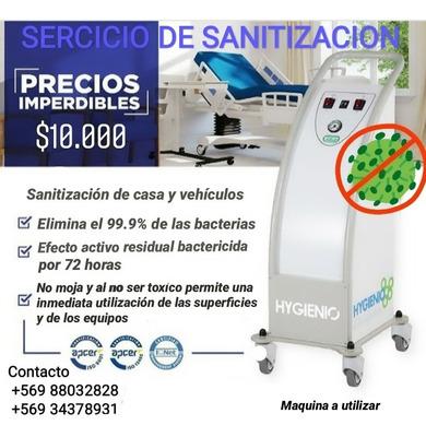 Servicio De Sanitizacion Hogar - Vehículos - Aire Acond..