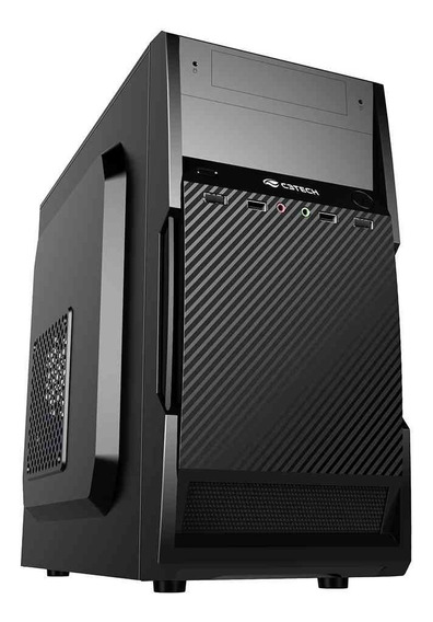 Gabinete Pc Micro-atx Mt-25v2bk Sem Fonte C3tech - Promoção