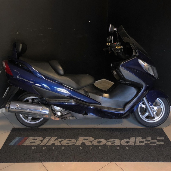 Suzuki Burgman 400 Azul 2009