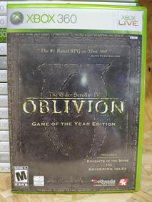 Jogo The Elder Scrolls 4 - Oblivion Xbox 360, Mídia Fisica