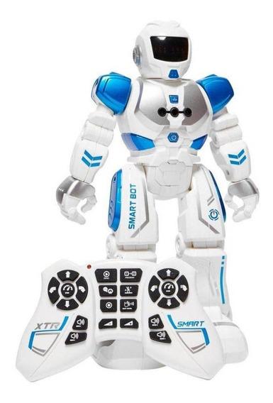 Brinquedo Robô Com Controle Remoto Xtrem Bots Smart Bot
