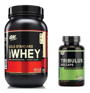Whey Gold Standard + Tribulus 100 Caps - Optimum Nutrition