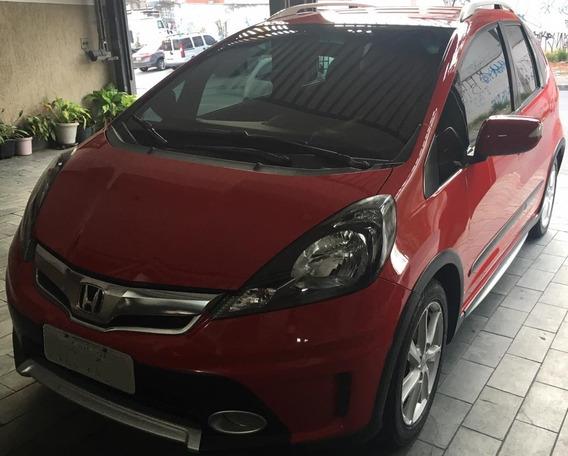 Honda Fit Twist Completo Chave Reserva Manual E Baixo Km