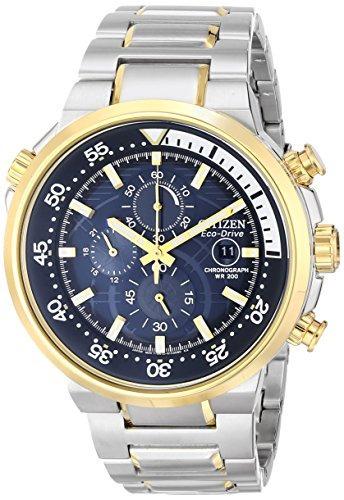 Reloj Cronografo Ecologico Para Hombre Con Fecha, Ca0444-50l