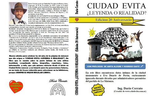 Libro  Ciudad Evita ¿leyenda O Realidad? De Dario Cerrato