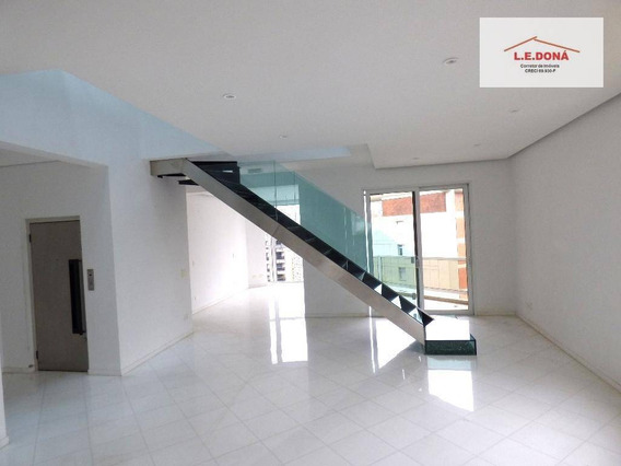 Cobertura Com 3 Dormitórios À Venda, 490 M² Por R$ 7.200.000,00 - Consolação - São Paulo/sp - Co0023