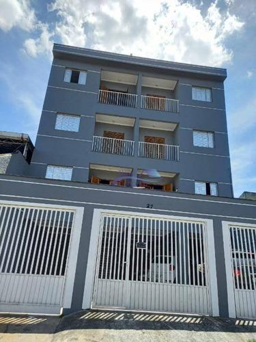 Imagem 1 de 14 de Apartamento Com 2 Dormitórios Para Alugar, 45 M² Por R$ 1.000,00/mês - Jardim Rodolfo Pirani - São Paulo/sp - Ap0062