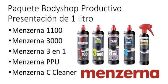 Menzerna Paquete Body Shop Productivo Presentación De 1 Lt