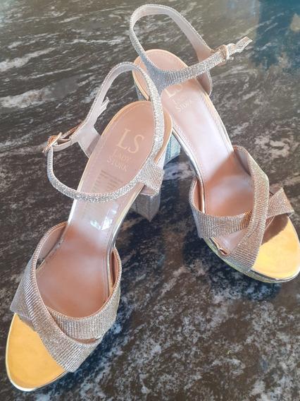 Zapatos De Fiesta Lady Stork, Como Nuevos!!!!