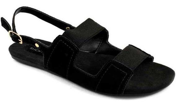 Sandália Rasteira Numeração Especial Sapato Show 19710