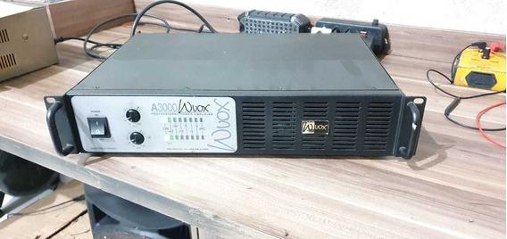 Amplificador Machine A3000 Wvox 800 Watts Rms Semi Novo...