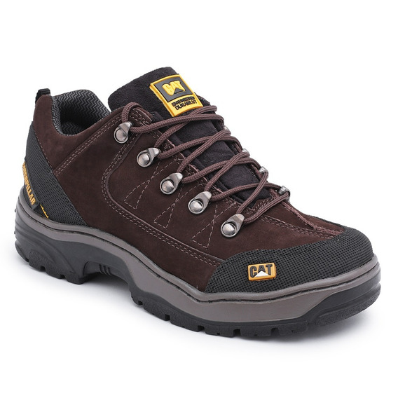 Bota Coturno Masculino Caterpillar Adventure Couro Confort
