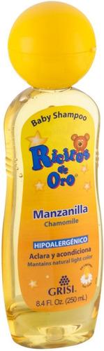 Shampoo Niños Manzanilla Ricitos De Oro Cabello Claro, Rubio