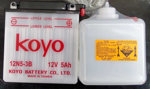 Batería De Moto Koyo 12n5-3b.gran Rendimiento.
