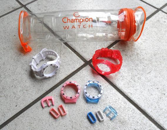 Pulseiras Relógio Champion Watch Troca Pulseiras Cp30182r