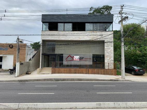 Loja Para Alugar, 480 M² Por R$ 14.000,00/mês - Itaipu - Niterói/rj - Lo0014