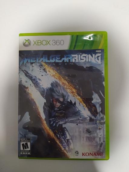 Jogo Xbox 360 Metal Gear Rising Mídia Física Original