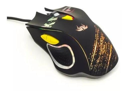 Gamer Mouse Usb Knup Kp-v30 2400dpi Led 6 Botões Kitc/2