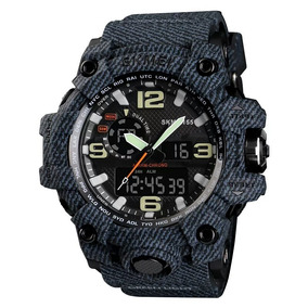 Relógio Skmei 1155 Esportivo Estilo G-shock 5atm Novas Cores