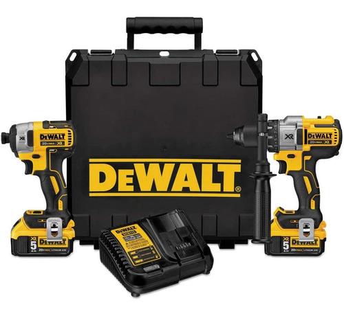 Dewalt 20v Max Xr Cordless Drill Combo Kit,brushless,2-tool
