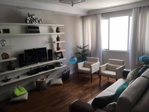 Imagem 1 de 30 de Apartamento Com 2 Dormitórios À Venda, 110 M² - Moema - São Paulo/sp - Ap9089