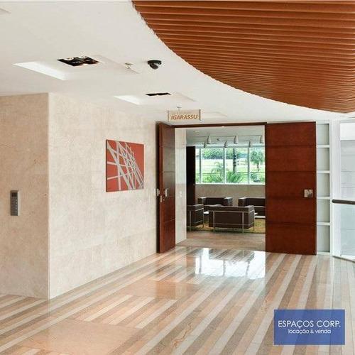 Laje Comercial Para Alugar, 544m² - Brooklin - São Paulo/sp - Lj0067