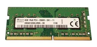 Memoria RAM 8GB 1x8GB SK hynix HMA81GS6CJR8N-VK