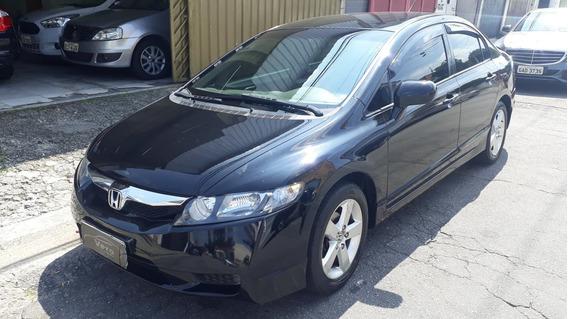 Honda Civic 1.8 Lxs Flex - Baixo Km - 2009