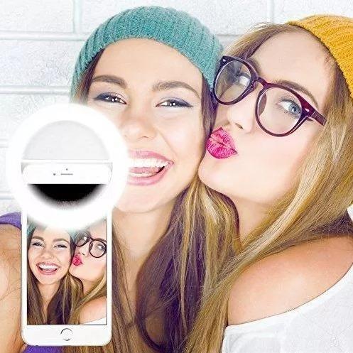 Aro Luz Led Selfie Recargable, No Requiere De Pilas
