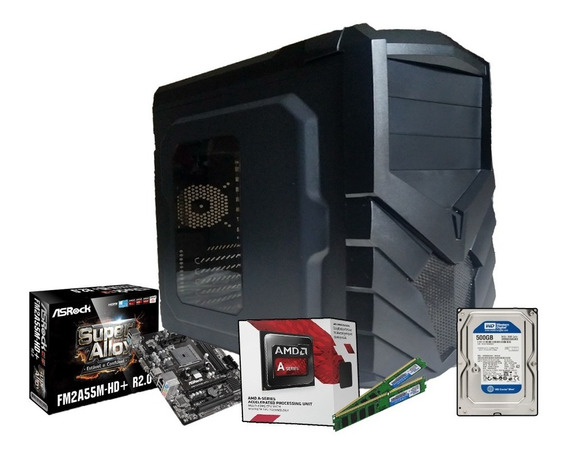 Pc Gamer Completo Amd A4 7300 Radeon Hd Graphics 500gb 8gb