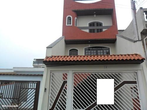 Sobrado Para Venda Em Santo André, Jardim Milena, 4 Dormitórios, 4 Suítes, 8 Vagas - 7045_1-184760