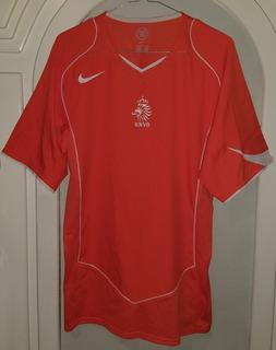 Jersey Seleccion De Holanda Nike Año 2004 Talla Mediana