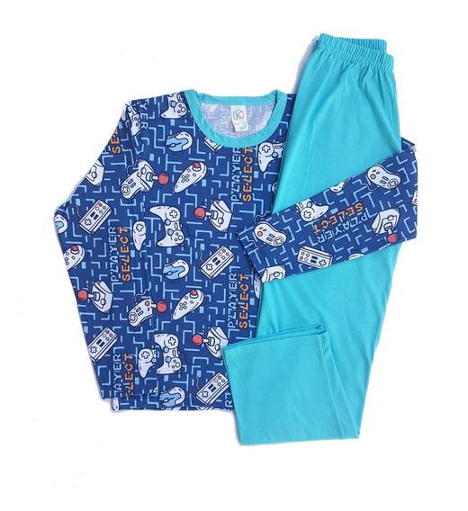 Kit 6 Pijama Infantil Menina Menino Juvenil Roupas Atacado