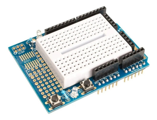 Protoshield Para Arduino Uno Shield + Proto 170p Unoelectro