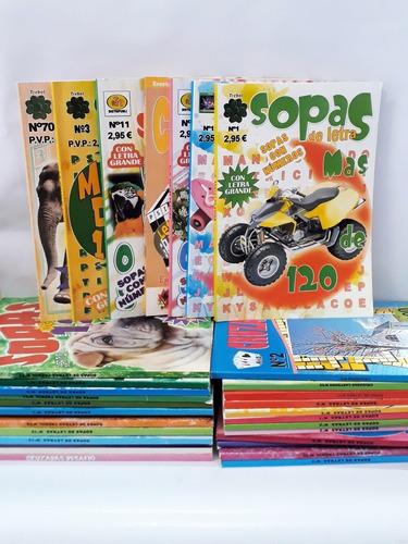 Imagen 1 de 3 de Libro Revista Entretenimiento Pasa Tiempo Sopa De Letras