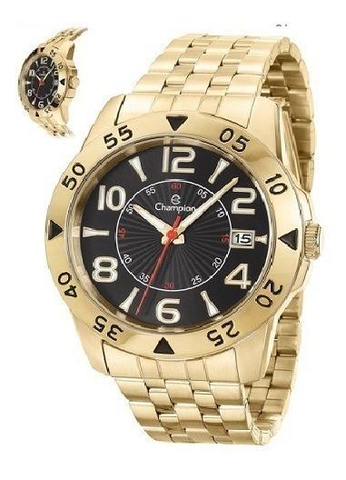Relógio Champion Masculino Analógico Dourado Ca31257u
