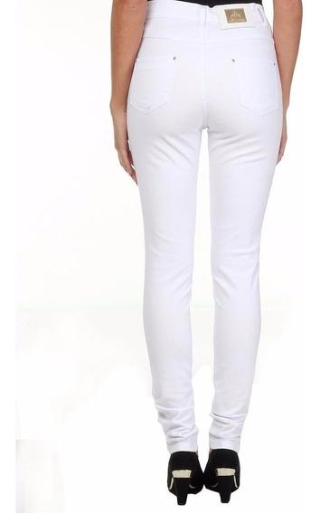 * Sawary Jeans Calça Hot Pant Branca 238387 - Tamanhos 38 44