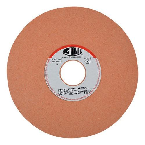 Rueda Naranja Esmerilado De Acero 7x1/4x1 Austromex Aus187