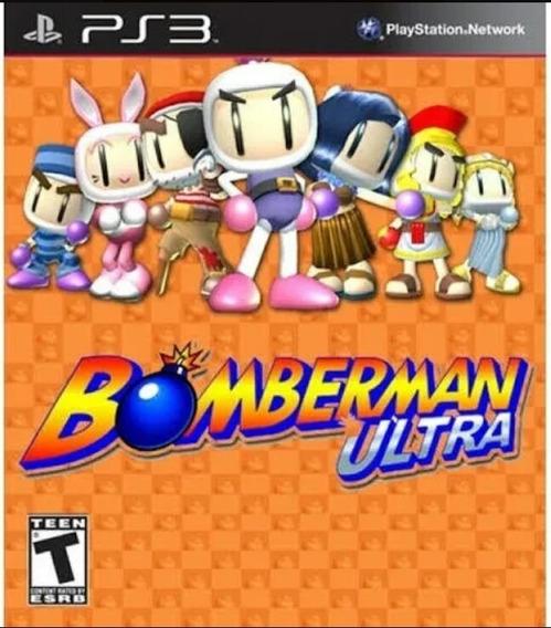 Bomberman Ultra Ps3 Playstation 3 Jogo Comprar